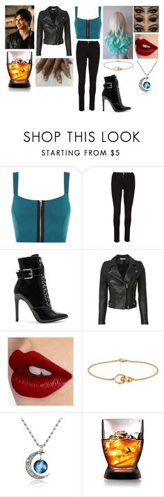 """Where's Damon (Vampire Dairies)"" by miasweetpea86 ❤ liked on Polyvore featuring WearAll, Unravel, Danielle Guizio, IRO and Charlotte Tilbury"