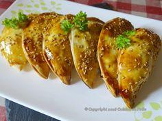 Cuisine en folie: Chaussons au jambon, champignons, persil, ciboulet...
