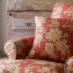 Fabienne is inspired by relaxed, classic French interiors made up of inherited patterns and rich furnishings, worn over time.  The collection conjures up the faded elegance of French chateaux and the charm of rustic country manors.