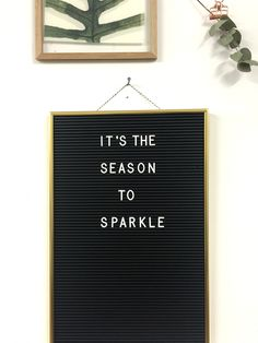 It's the season to sparkle // Brainy Days Motivational Words, Words Quotes, Me Quotes, Funny Quotes, Inspirational Quotes, Christmas Captions, Christmas Quotes, Memo Boards, Into The Woods Quotes
