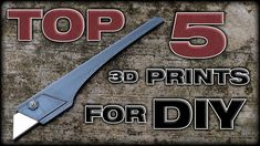 5 Useful And Easy To 3D Print Tools for DIY