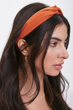Product Name:Twisted Self-Tie Structured Headband, Category:ACC, Velma Costume, Shop Forever, Forever 21, Tie Headband, Headbands, Layered Chain Necklace, Calf Muscles, Button Up Dress, Wardrobe Basics