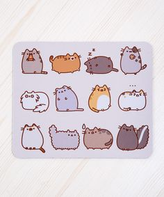 I Love Kitties mouse pad