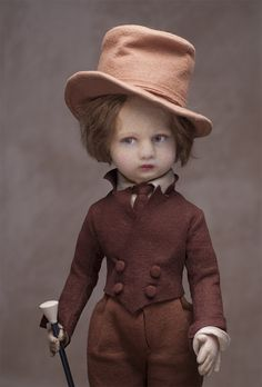 Rare Antique Italian a Lenci Dandy boy doll,c.1930, a series 400 example