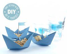 Ynas Design Blog, Schiffchen aus Papier, DIY