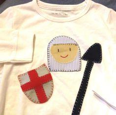 Camiseta Patchwork Sant Jordi