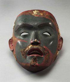 Face Mask circa Tsimshian, Northern British Columbia hardwood, paint, hide x x cm The Thomson Collection © Art Gallery of Ontario Native Indian, Native Art, Indian Art, Art Inuit, Art Gallery Of Ontario, Haida Gwaii, Art Premier, Tlingit, Masks Art