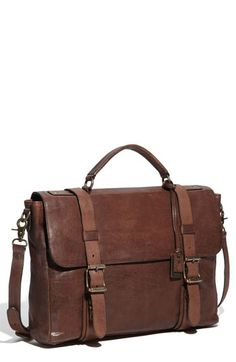 frye briefcase. Stylish, sleek, chic.