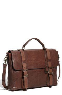 frye briefcase. Stylish, sleek, chic.
