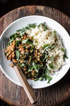 lentil stew with chard