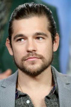 Actor Jason Ralph speaks onstage during 'The Magicians' panel discussion at the NBCUniversal portion of the 2015 Winter TCA Tou at Langham Hotel on January 2016 in Pasadena, California. Pretty Men, Gorgeous Men, The Magicians, Jason Ralph, Lights Camera Action, Famous Men, Cute Guys, Celebrity Crush, Movie Stars