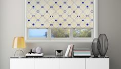 Pocket stuff #rollerblinds #windowtreatments #window #decor #home #interior #design #pattern #printed #DIY @decoshaker