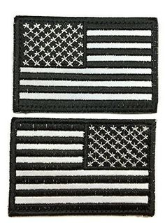 Tactical USA Reverse Flag Patch - By Patch Squad