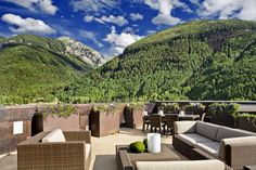 The Heart of Telluride penthouse has the highest deck in downtown Telluride.  The views are spectacular!  www.heartoftelluride.com