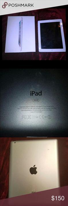 16 GB Apple Ipad 2 16 gb, barely used, nice ipad 2 Other