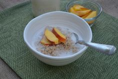 Hey guys, it's been 37 days since I last posted a breakfast recipe and since you know how much I adore breakfast, I figured it was high time for another! This is a sweet easy late summer breakfast ...