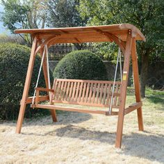 Como hacer un columpio de madera para jardin buscar con for Amazon hamacas jardin