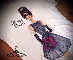 T-shirt oh my Dior. Mr.GOM