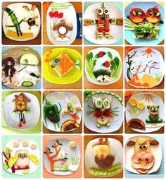 fun meal plates