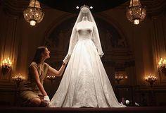 Kate's wedding dress.