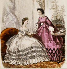 1862. Notice the pretty cap.
