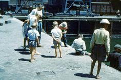 Fishing in the Docks    1962. | by Etiennedup