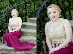 Shot By An Angel Photography - Shelby Fowler - Prom - Founders Memorial Garden - Athens, Ga
