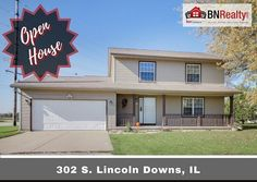 -->OPEN HOUSE<-- When: Saturday, February 24 from 10:30 to 12:30 https://www.bnrealty.com/homes/302-S-Lincoln/Downs/IL/61736/79093042/  Where: 302 S. Lincoln, Downs  #bnrealty #kellerwilliamsbloomington #blono #downsil #downsillinois #downshousessforsale #trivalley