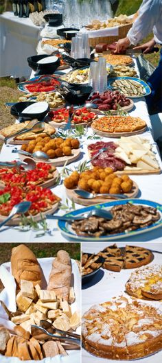 Now this is an Italian style feast!!