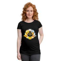 Geschenke Shop | meditation yoga - Frauen Schwangerschafts-T-Shirt Yoga Meditation, Aloe Vera Gel, Namaste, T Shirts For Women, Tops, Fashion, Great Gifts, Women's T Shirts, Cotton