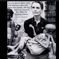 Audrey Hepburn... Beautiful soul