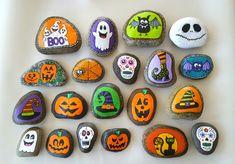 HALLOWEEN!!! - Painted Rocks - MyKingList.com
