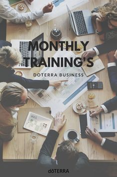 Monthly training's are a great way for you to build your doTERRA Business by teaching others.