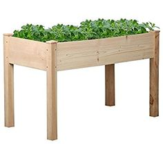 go2buy Rustic Elevated Garden Planters | Pomona