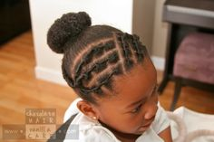 Twisted Spirals | Chocolate Hair / Vanilla Care: Style Gallery
