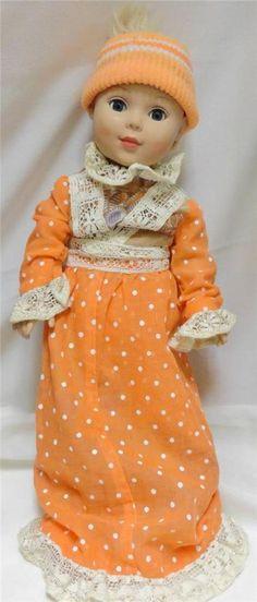"""2009 MADAME ALEXANDER 18"""" Blonde Doll  #50934 Open/Shut Eyes"""