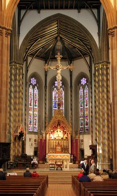 St Chad's Cathedral, Birmingham - The Apse...Augustus Pugin