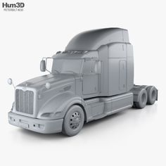 a69a142320 Buy Peterbilt 386 Sleeper Cab Tractor Truck 2010 by on The model was  created on real car base.