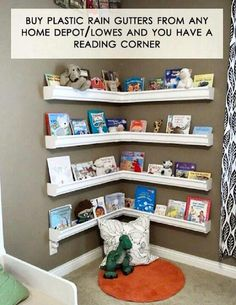 Book shelf for the kids. Great for classrooms too!!!
