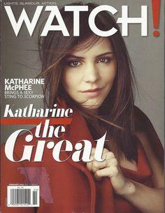 Katharine McPhee Watch Magazine Feb 2015 Scorpion Josh Duhamel Jerry Bruckheimer