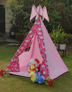 Teepee Party, Kids Teepee Tent, Play Tents, Teepees, Indoor Tent For Kids, Indoor Tents, Childrens Tent, Baby Tent, 2nd Birthday Party For Girl
