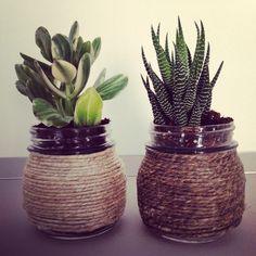 Centrotavola di piante grasse fatto a mano/ handmade succulent decor!