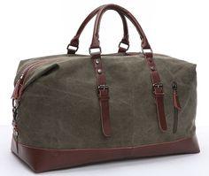 Cool Walker Large Capacity Canvas Travel Luggage Weekend Duffel Shoulder Handbag *** Visit the image link more details.