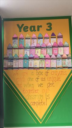 Inspired by the day the crayons talked. Lovely transition day activity and display for the start of a new term. - Decoration For Home Primary Classroom Displays, Year 4 Classroom, Classroom Display Boards, Ks1 Classroom, Teaching Displays, Class Displays, Preschool Displays, Display Boards For School, Classroom Ideas
