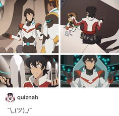That's how ya know a good show: character consistency mixed with development Voltron Klance, Voltron Memes, Form Voltron, Voltron Ships, Keith Kogane, Space Cat, Shiro, Paladin, Emoticon