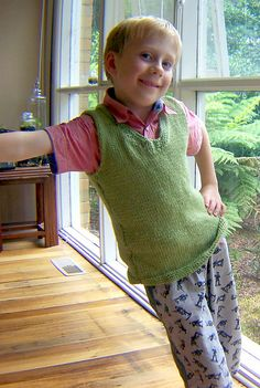 Knitted Leaf Vest and Army men pants!