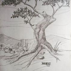 Studia Arsir 5 #pohon #art #drawing #pencil Fine Art Drawing, Basic Drawing, Pencil Art Drawings, Art Techniques, Instagram, Sketch, Travel, Sketch Drawing, Viajes