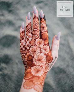 30 Lotus Mehndi Designs For Your Gorgeous Henna Design Mehndi Designs Finger, Rose Mehndi Designs, Latest Henna Designs, Henna Tattoo Designs Simple, Basic Mehndi Designs, Back Hand Mehndi Designs, Mehndi Designs 2018, Henna Art Designs, Bridal Henna Designs