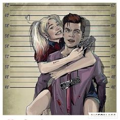 Young love awwww the joker and Harley Quinn