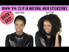 Would You Try It? 3 Black-Owned Companies Making Textured Clip-Ins For Natural Hair | Black Girl with Long Hair